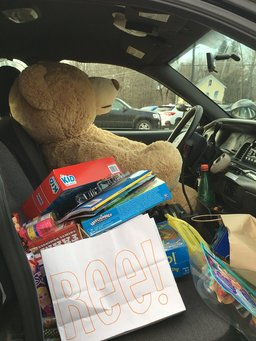 Elementary Students To Stuff A Cruiser for area kids in need