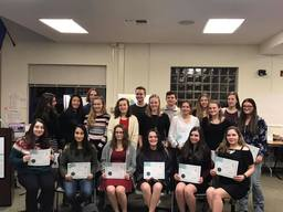 Math Honor Society Honorees Inducted into Mu Alpha Theta