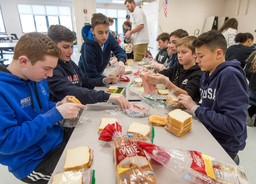 6th Annual Warriors For Warmth Event Sees Students Helping the Needy