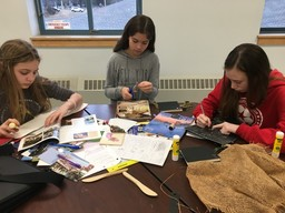 6th Graders Learn the Art of Bookmaking at WMS
