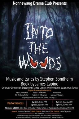 "NHS Drama Presents ""Into the Woods"" April 5 -7"
