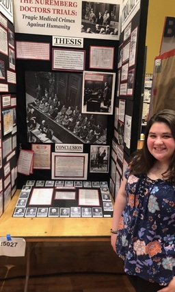 Region 14 Student Attended National History Day Competition